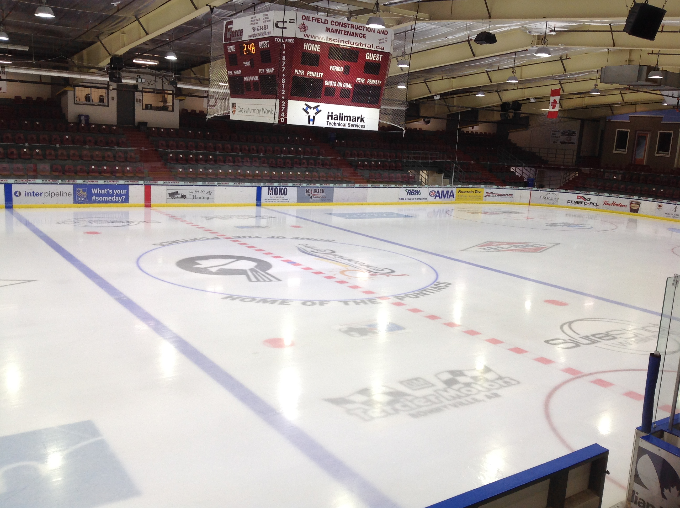 RJ LALONDE ICE ARENA