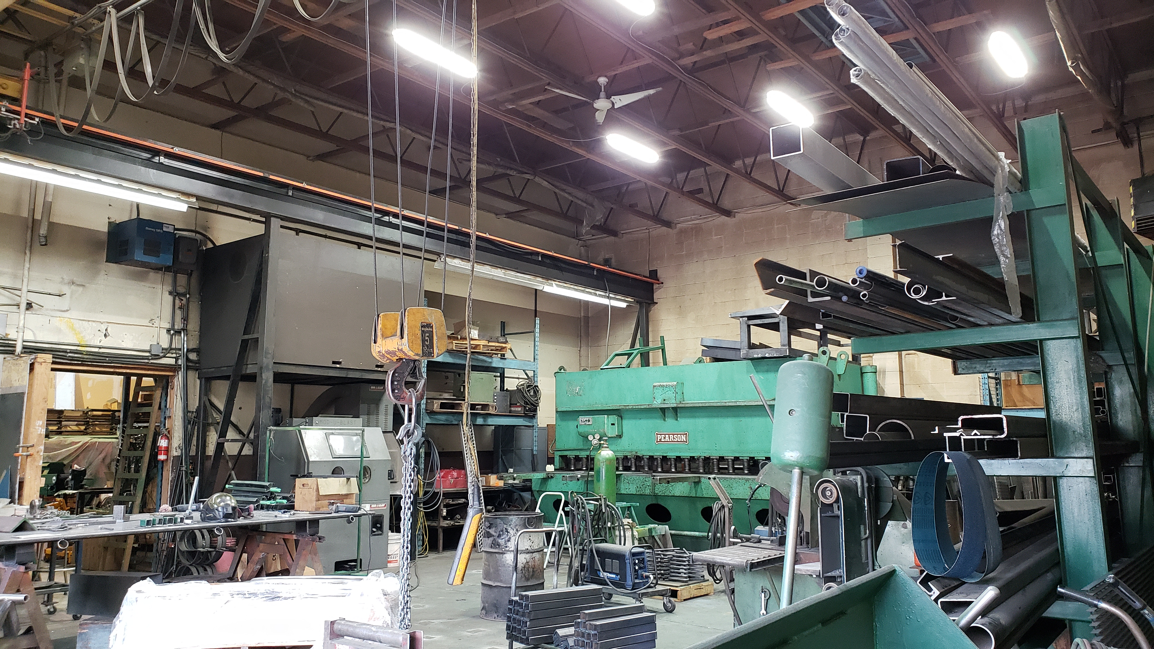 Metal Fabrication Shop – Surrey, BC